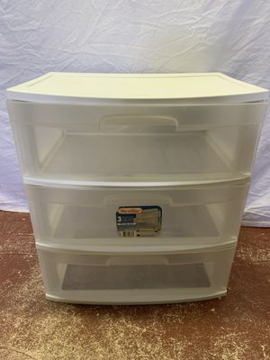 Sterilite 3 Drawer Storage Container for Sale in Lauderdale Lakes, FL