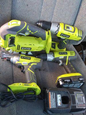 Ryobi power tool set for Sale in Edmonds, WA