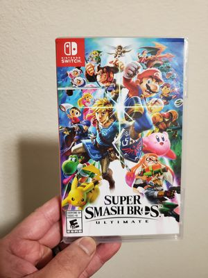 Nintendo switch super smash bros ultimate game for Sale in Everett, WA