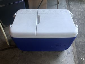 Cooler and coleman water cooler for Sale in Garland, TX