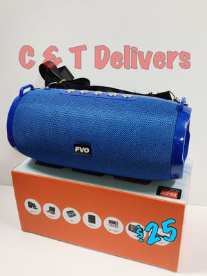 🎄 Gift Ready 🎄 Blue • Bluetooth Portable Speaker💥New In Box💥Loud - Rechargeable💥Get it Delivered Today** for Sale in Los Angeles, CA
