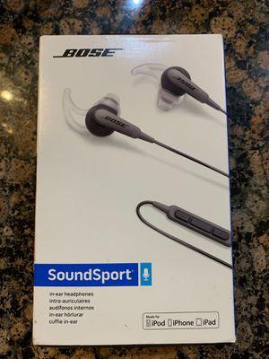 Bose SoundSport headphones for Sale in Henderson, NV