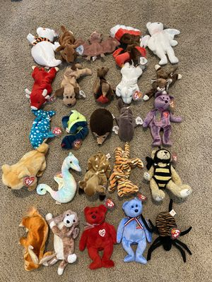 400+ Beanie Babies with tags! for Sale in Bonney Lake, WA