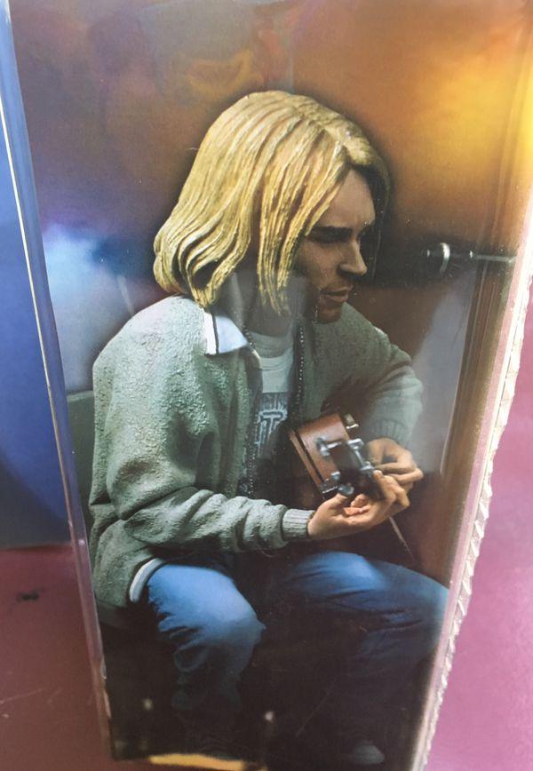 Kurt Cobain Nirvana - Unplugged Action Figure.