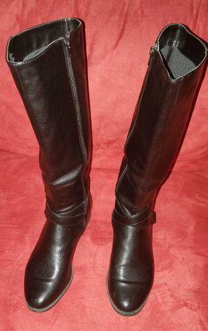 Black Knee High Riding Boots. Size 9 Medium. for Sale in Woodbridge, VA