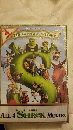 Shrek The whole Story all 4 shrek movies for Sale in Calumet Park,  IL