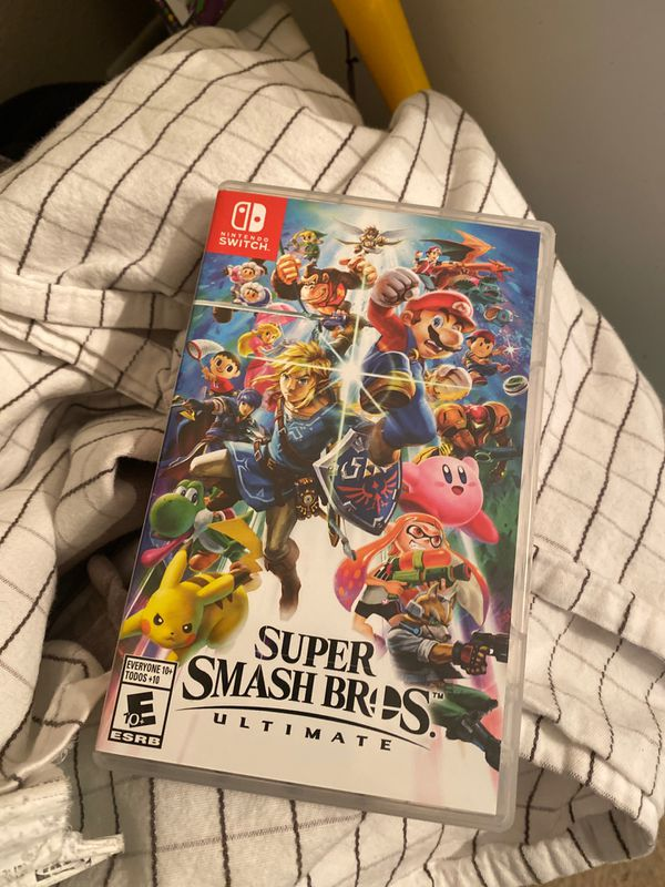 Super Smash Ultimate looking to trade