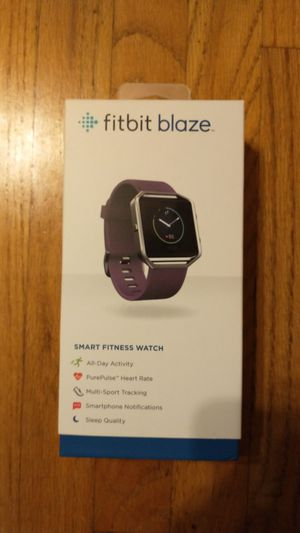 Fitbit blaze w/ extra wrist strap and charger for Sale in Downey, CA