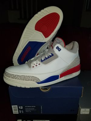 Jordan 3 International size 12 for Sale in Roselle c21ad1ac5