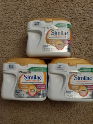 Similac pro sensitive. Available for Sale in Everett, WA