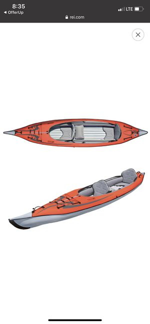 Advanced Elements Inflatable Kayak - 2 person for Sale in Seattle, WA