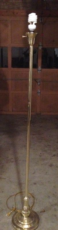 Floor lamp without shade for Sale in Winston-Salem, NC