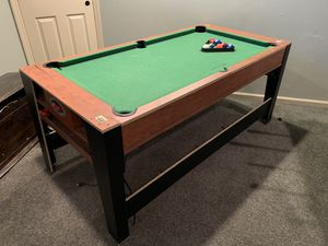 Pool table / air hockey combo table for Sale in Dresher, PA