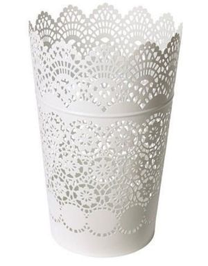 14 white lace candle holders for Sale in Gaithersburg, MD