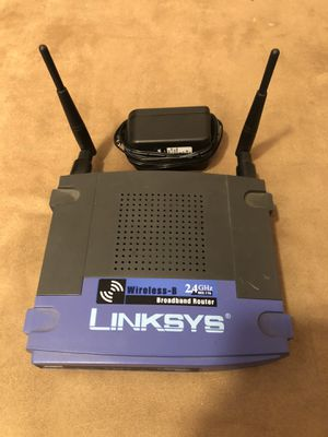 Cheap working Wireless Router - Linksys for Sale in Corona, CA
