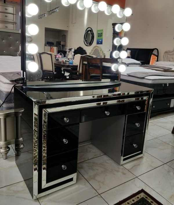 BRAND NEW VANITY MIRROR IMPRESSIONS ONLY ADD MATTRESS AND NEW FURNITURE AVAILABLE 4EAG