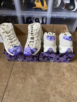 """Reebok Questions Mid """"Cam'ron"""" size 3.5,4.5 for Sale in Las Vegas,  NV"""