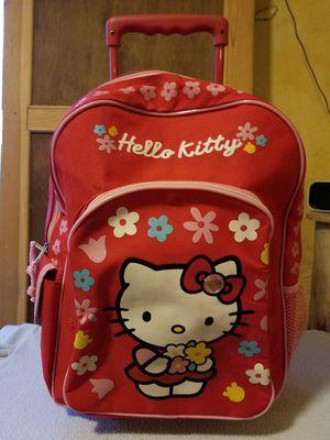 Hello Kitty Rolling backpack for Sale in Auburn Hills, MI