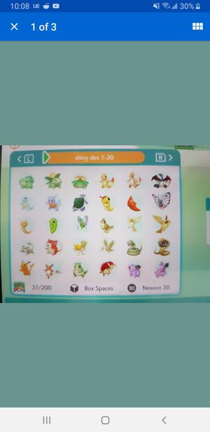 Pokemon Shiny Living Dex 1-807 (Pokemon Home) Fast delivery for Sale in MONTGOMRY VLG, MD