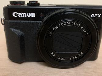 Canon G7X Mark ii for Sale in Allen Park,  MI