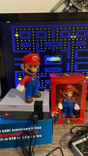 Arcade Video Game Classic Anniversary Edition Mini-Nintendo + Mario figure included for Sale in Hallandale Beach, FL