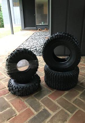 new set of 4 riding lawn mower for Sale in Oakton, VA