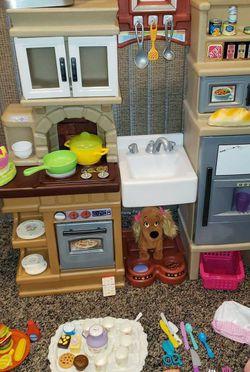 Kids Kitchen with Accessories for Sale in Cranston,  RI