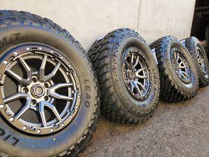 "17"" Fuel Wheels/ 35"" MT Tires for Sale in Orange, CA"
