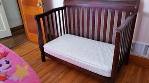 Delta crib to twin with mattress for Sale in Buffalo, NY