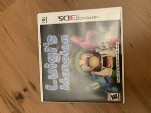 Luigis mansion for Nintendo Ds game/case/booklet for Sale in Painesville, OH