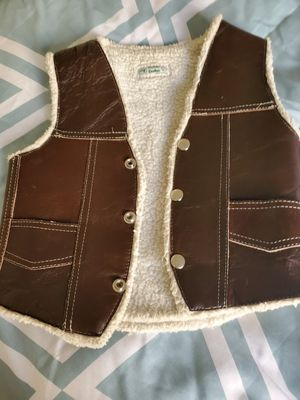 Toddler cowboy vest for Sale in Temecula, CA