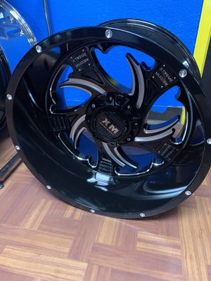 20x12 off-road wheels 6lug Chevy Ford for Sale in Dallas, TX