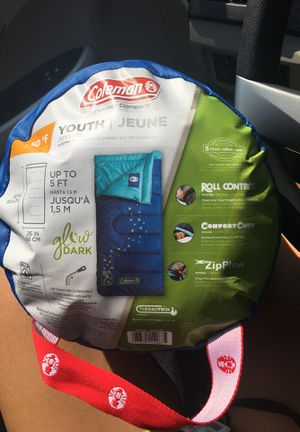 Brand new Coleman Youth Glow In Dark Sleeping Bag for Sale in Austin, TX