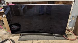 """65"""" Samsung curved LED broken screen for Sale in Fort Worth, TX"""