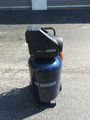 Campbell housefeld 20 gallons compressor for Sale in Largo, FL