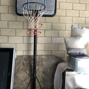 NBA Official Size Hoop 2 Nike Basketballs 1 Nike Pump for Sale in Irvine, CA