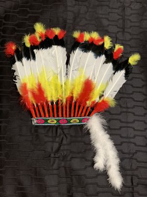 Indian feather headband 4 Halloween for Sale in Miami Gardens, FL
