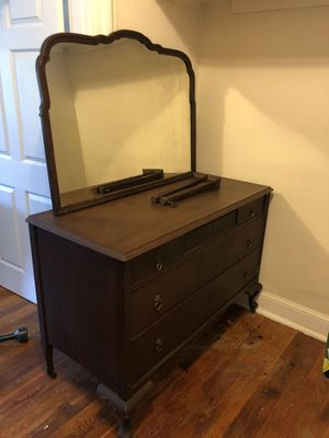 1800's 100% real wood dresser for Sale in Washington, DC