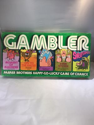 Gambler 1975 by Parker Brothers for Sale in Phoenix, AZ