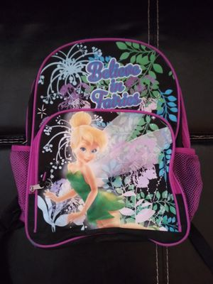 Tinkerbell bookbag and bike bag for Sale in Southfield, MI