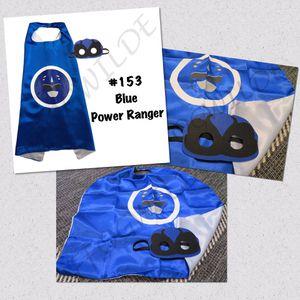 Power Ranger Cape and Mask Set (Great for Easter Baskets!) for Sale in South Jordan, UT