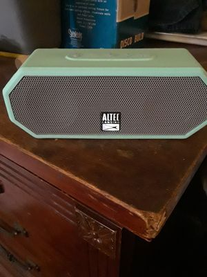 altec lansing blutooth speaker very loud for Sale in Baltimore, MD