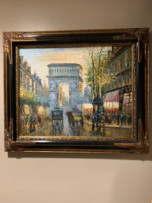Antique oil painting. for Sale in Hialeah, FL