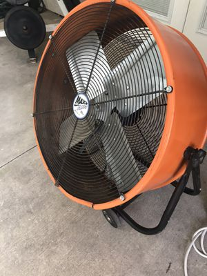 Commercial Electric 24-Inch 2-Speed Portable Fan for Sale in Upland, CA
