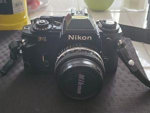 Nikon FG 32mm film camera w/ 52 mm lens for Sale in Fayetteville, NC