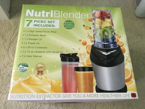 Mini High Speed Smoothie Blender Single Serve Personal Blender for Shakes and Smoothies,Juices,Fruits,Nuts,Coffee Bean,Baby Food with 32 oz Portable for Sale in Hacienda Heights, CA
