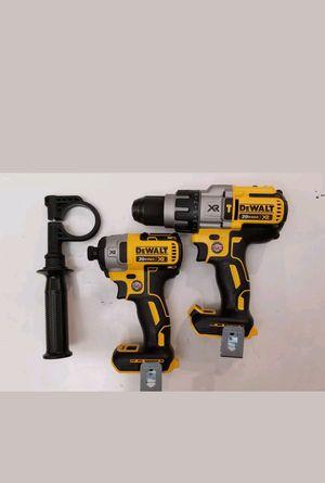 Dewalt mpact y hammer dril 20v xr 3speed for Sale in Manassas, VA