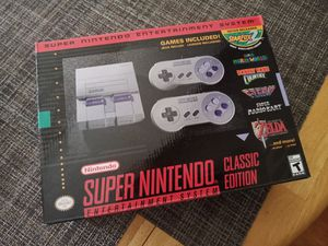 Super Nintendo Classic Mini Edition SNES System BRAND NEW! for Sale in Fort Lauderdale, FL