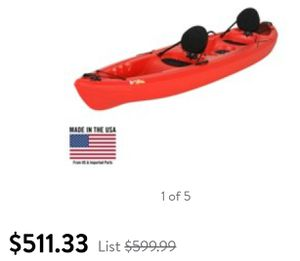 Pelican 12ft 2 person open Kayak for Sale in Snohomish, WA
