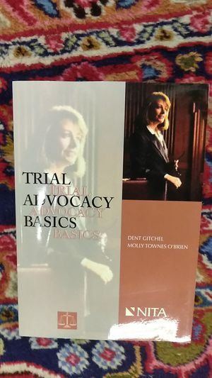 Trial Advocacy Basics for Sale in Boston, MA